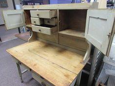Primitive Antique Possum Belly Kitchen Cabinet Hutch Cupboard   eBay