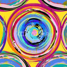 abstract background pattern, with circles, strokes and splashes