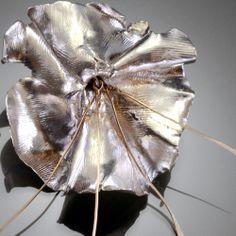Summer Squash Blossom Ring by award-winning artist David Gaussoin