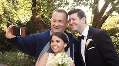 Tom Hanks Crashes a Couple's Wedding Photo Shoot in Central Park