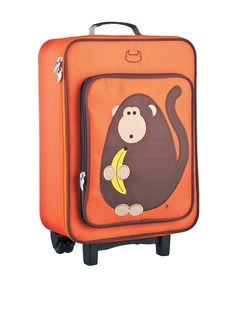 Beatrix New York Kids Wheelie Bag Monkey, Orange, One Size at MYHABIT Kids  Rolling 50c94810a1