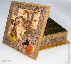 Коробка в стиле стимпанк Скрапбукинг
