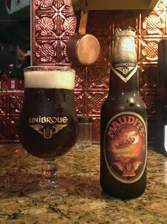 Maudite by Unibroue Inc.; Chambly, Québec, Canada.