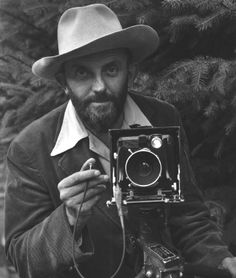 ansel adams // self-portrait