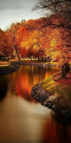 Autumn and Lake...