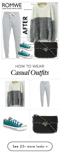 """""""Casual"""" by cultuerd-stylish on Polyvore featuring Converse and Valentino"""