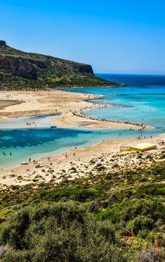 Balos Lagoon, Crete - Crete's most photographed beach! #traveltoGReece