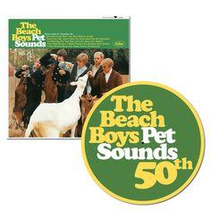 The Beach Boys - Pet Sounds: Mono Vinyl Exclusive 50th Anniversary Slip Mat