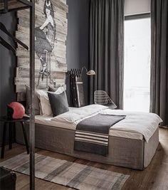 Inspiracje w moim mieszkaniu {Inspiration in my apartment}: Męskie mieszkanie w Berlinie/ Men's flat in Berlin