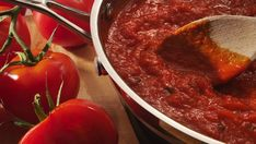 Homemade Marinara Sauce - much better for you than out of a jar.