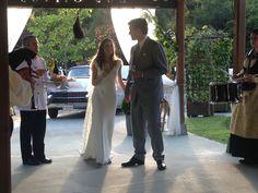 Recepción de los novios en #Catering #LosOlivos #Navia #restaurante #lugares #celebración #bodas #eventos #asturias #encanto www.pepesantiago.com