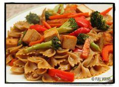 Full vedge - Recettes végétariennes et gourmandes!: Boucles asiatiques aux légumes et au tofu