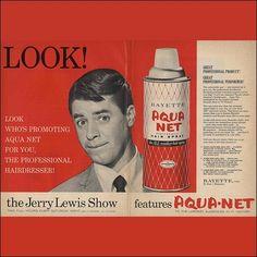 JERRY LEWIS - Aqua Net