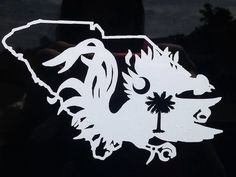 South Carolina Gamecock Decal by TayTaysCraftroom on Etsy