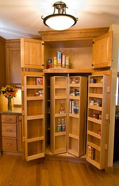 genius storage idea...this is actually in the house that I am trying to buy right now! I hope I get it