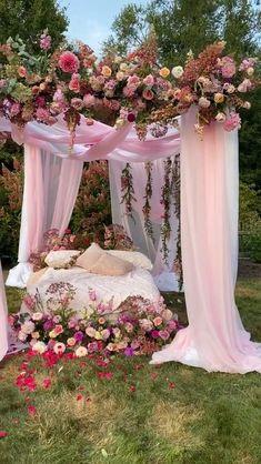 Wedding Backdrop Design, Desi Wedding Decor, Romantic Wedding Decor, Outdoor Wedding Decorations, Backdrop Decorations, Ceremony Decorations, Rustic Wedding, Event Decor, Wedding Designs
