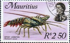 Mauritius 1975 SG 477 Marine Life Fine Mint Scott 341b  Other Mauritius Stamps HERE