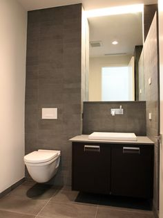 Phoenix Modern Bathroom Design Pictures Remodel Decor and Ideas - page 5 Minimalist Baths, Modern Minimalist, Bathroom Renos, Bathroom Ideas, Washroom, Bathroom Remodeling, Modern Bathroom Design, Modern Bathrooms, Farmhouse Layout