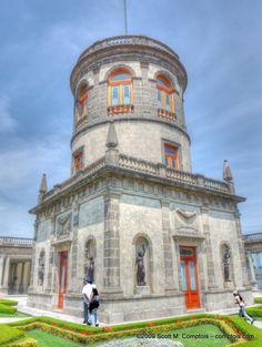 Chapultepec Castle   Scott Comptois Photography