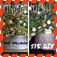Sweet Orange Fox: Ring the Tree - Tree Collar DIY