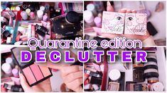 I hope you're all staying safe during these hectic times. In other hand here is how I been keeping myself sane by decluttering my makeup collection and this . My Makeup Collection, Declutter, Palette, Eyeshadow, Videos, Face, Beauty, Eye Shadow, Organizing Life