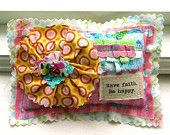 Sachet Lavender Sachet Small Pillow Sachet by tracyBdesigns. $6.50, via Etsy.