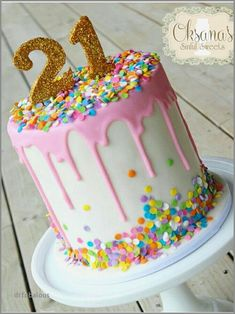 49 Best Of Birthday Cake Delivery California Drip 21st For Girls