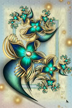 fractal art: TheGoldenParadise by =coby01