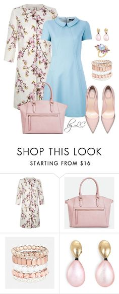 """fresh spring"" by explorer-14541556185 ❤ liked on Polyvore featuring Kaliko, JustFab, Avenue, Monies and Bounkit"