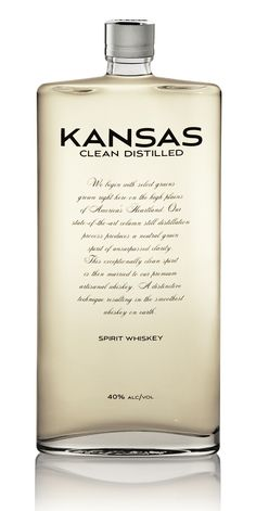 Kansas Spirit Whiskey.