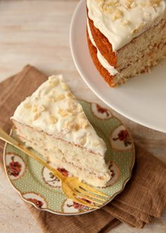 """This """"Triple Ginger Cake"""" would make a lovely ending to an Easter meal."""