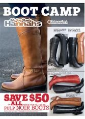 Hannahs Catalogue: Boot Camp