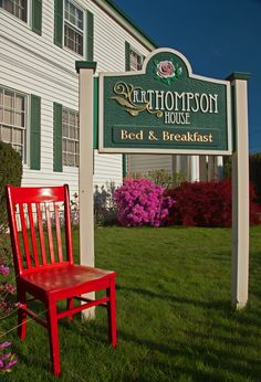 R. R. Thompson House Bed & Breakfast Carlton, OR April 15-21st, 2015