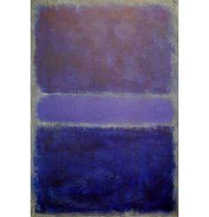 rothko | Rothko Painting - Purple and Gray