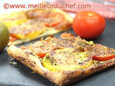 Tarte aux tomates variées   #tarte  #tomate  #tourte
