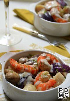 navarin au fruits de mer et sauce chablis