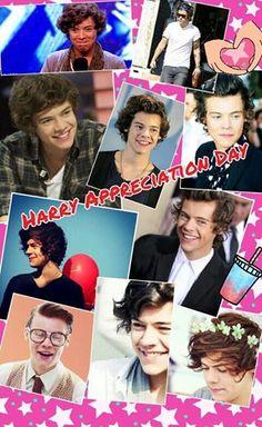 #HarryAppreciationDay ♥ Yayy! Love him sooo muchkin  =) #5daysfor1D