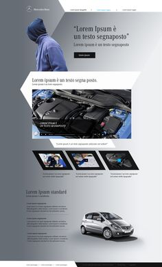 Mercedes-Benz unconvetional project by hristo ivanov, via Behance