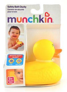Munchkin 'White Hot' Duck Bath Toy | Shopping World Super Store List Price: $3.99 Discount: $1.00 Sale Price: $2.99