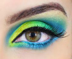 Michelli Make Up: Maquiagem Brasil Copa 2014
