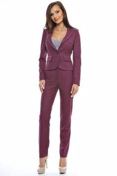 Tinuta sacou uni cu guler cu bentita catifea si pantalon semiajustat. Jumpsuit, Dresses, Style, Fashion, Overalls, Vestidos, Swag, Moda, Fashion Styles