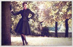 Premium 50s inspired fashion from Berlin. www.yvonnewarmbier.com