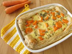 Puff Pastry Vegetable Pot Pie Casserole