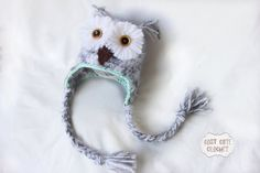 Hey, I found this really awesome Etsy listing at https://www.etsy.com/listing/157202905/snowy-owl-hat-crochet-baby-owl-hat