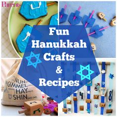 Celebrate all eight nights of the Festival of Lights with a different craft and recipe every single day!