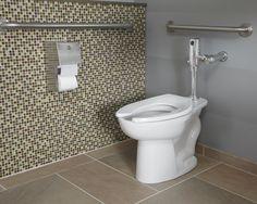 1.1 GPF High Efficiency Flushometer Toilet System