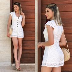 Off The Shoulder, Cold Shoulder Dress, Casual Outfits, White Dress, Womens Fashion, Jumper, Vintage, Spring, Dresses