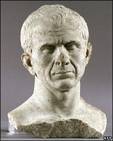 """""""Divers in France have found the oldest known bust of Roman dictator Julius Caesar at the bottom of the River Rhone …. The marble bust was found near Arles, which was founded by Caesar… France's culture ministry said the bust was from 46BC, the date of the southern town's foundation… The ministry described the bust - which shows a lined face and a balding head - as typical of realist portraits of the Republican era."""