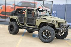 2017 Jeep Wrangler Unlimited Sport 102 Miles Kevlar Flat Army Green Convertible