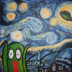 147 best art parody starry night images on pinterest starry